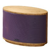 AULUXE Aurora Wood [AW1010W] - Purple - Speaker Bluetooth & Wireless
